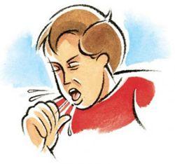 мокрий кашель
