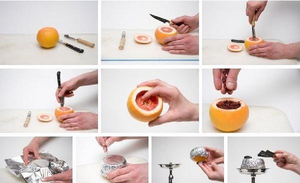 Як зробити кальян на апельсині