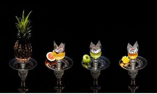 Приготування кальяну на фруктах