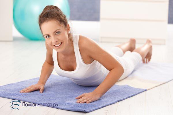 шийно грудної остеохондроз гімнастика