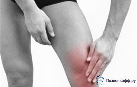 Пам`ятайте: розтягнення зв`язок колінного суглоба вимагає невідкладного лікування!