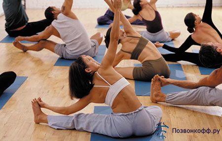 Хатха-йога при артрозі колінного суглоба